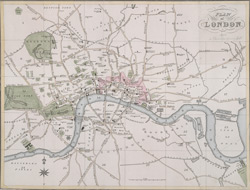 Plan of London (1828)